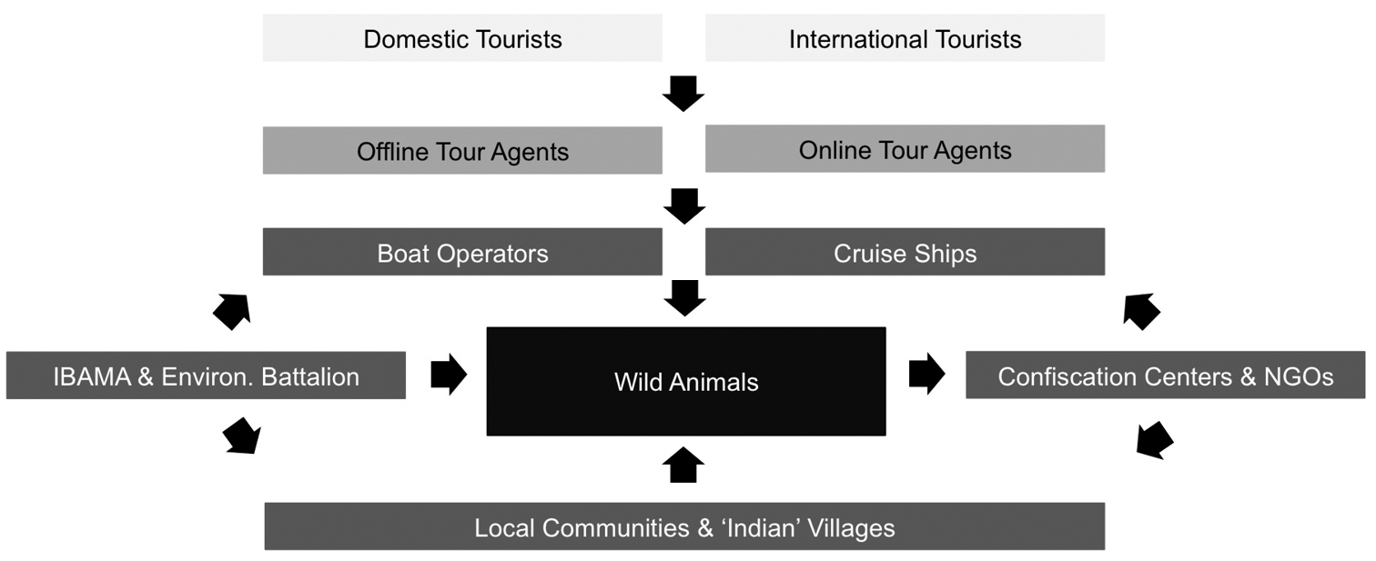 A review of wildlife ecotourism in Manaus, Brazil